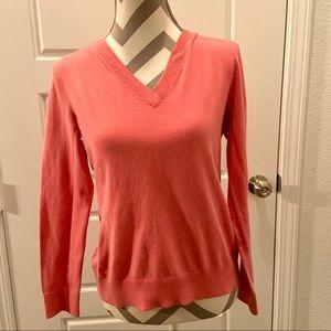 Lily Pulitzer v neck pink sweater medium